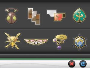 Kalos Gym Badges