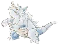 Poor Rhydon, your best days or so sadly behind you...