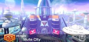 The triumphant return of Mute City! It's a great Mario Kart 8 track to boot.
