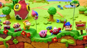Kirby in clay! It looks like it was always supposed to be.