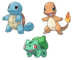 That's right absolutely no Kanto starters. Did we really want a Charizard... again...