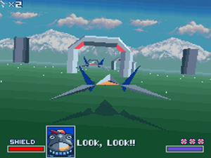 Falco, Peppy and Slippy have distintictive characters despite limited lines of text each.
