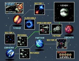 There are a total of 21 individual stages in game. That's plenty of space battles to sink our teeth into.