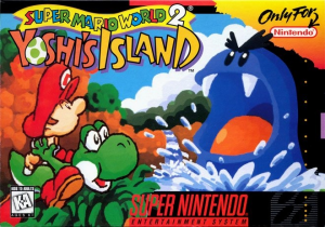 Yoshi's Island Boxart