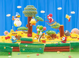 At least Yoshi made of wool makes Yoshi cuter than ever before!