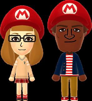 Mii Mario Hat