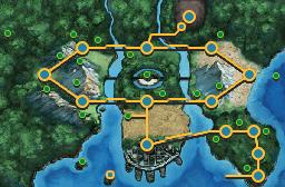 Unova Town Map