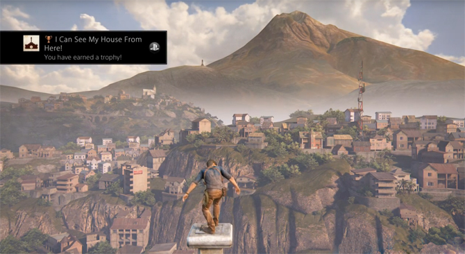 uncharted-4-I-Can-See-My-House-From-Here-Trophy
